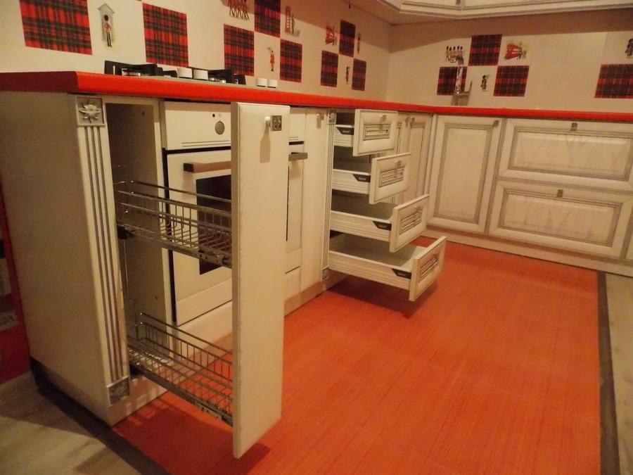 Встроенная кухня-Кухня из шпона «Модель 13»-фото3