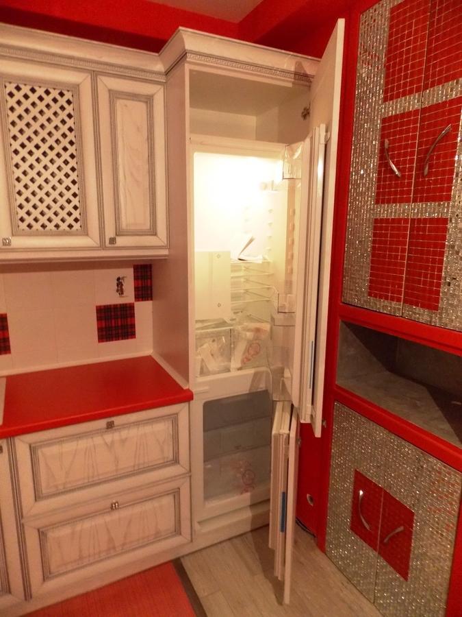 Встроенная кухня-Кухня из шпона «Модель 13»-фото4