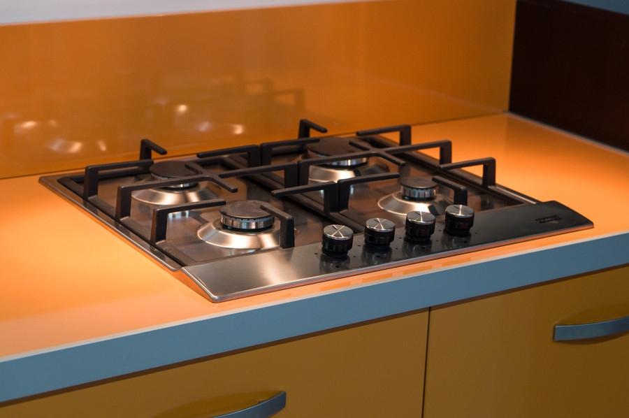 Глянцевые кухни-Кухня МДФ в ПВХ «Модель 44»-фото7