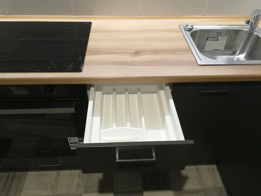 Купить зеленую кухню-Кухня МДФ в пластике «Модель 19»-фото8