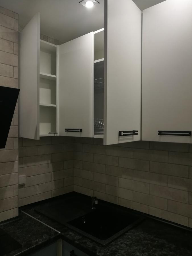 Белый кухонный гарнитур-Кухня МДФ в ПВХ «Модель 30»-фото4