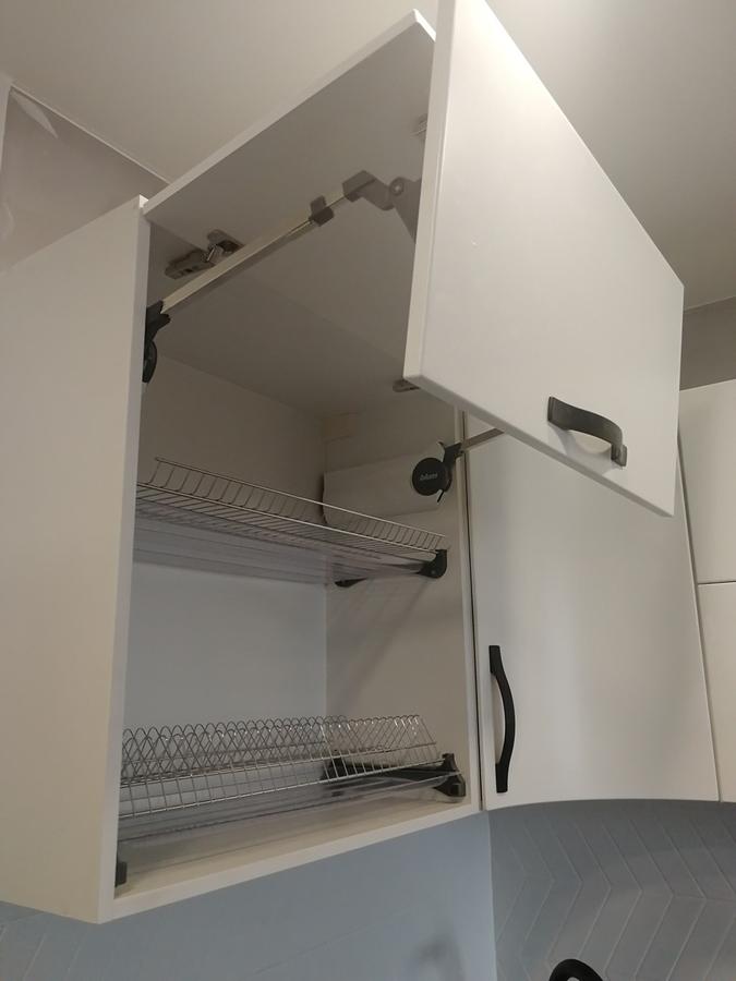 Белый кухонный гарнитур-Кухня МДФ в ПВХ «Модель 29»-фото13