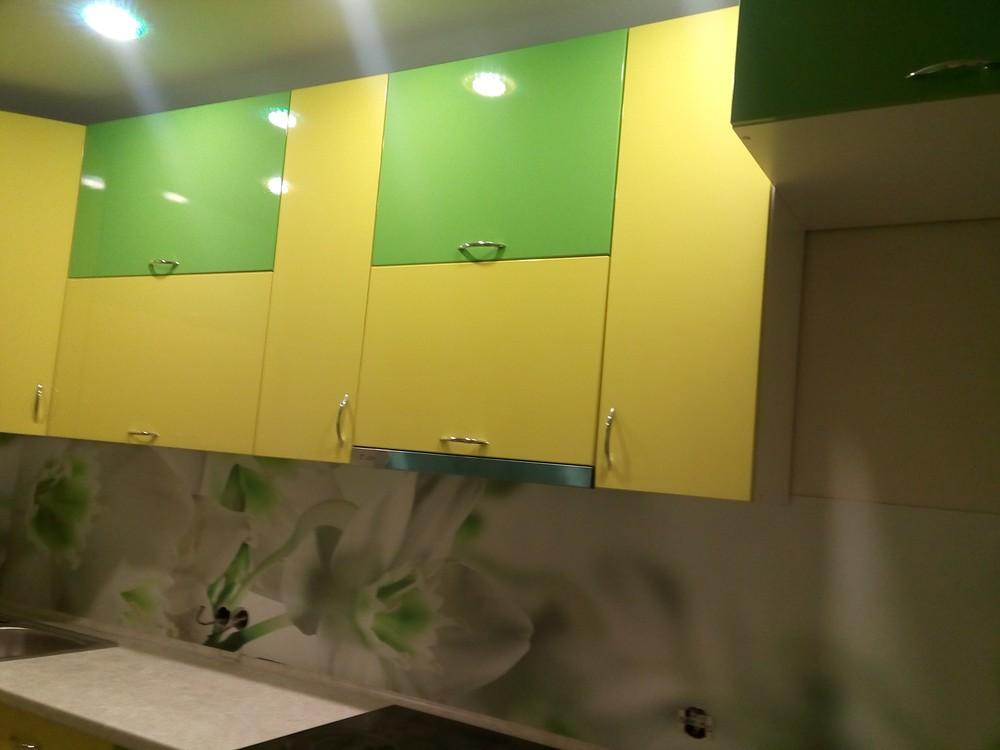 Встроенная кухня-Кухня МДФ в ПВХ «Модель 329»-фото6