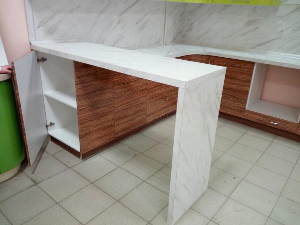Встроенная кухня-Кухня МДФ в ПВХ «Модель 313»-фото3