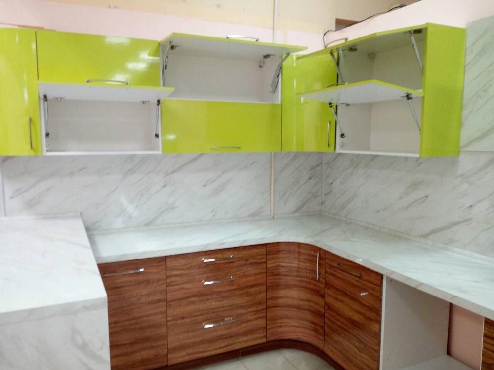 Встроенная кухня-Кухня МДФ в ПВХ «Модель 313»-фото4