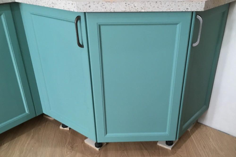 Белый кухонный гарнитур-Кухня МДФ в эмали «Модель 321»-фото7