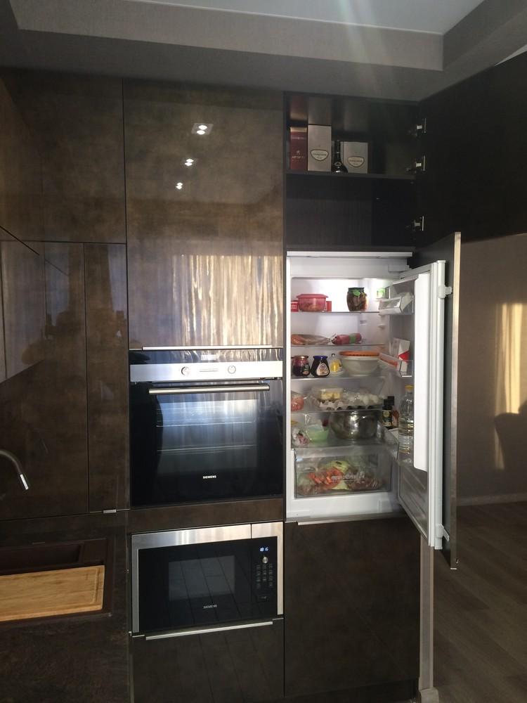 Акриловые кухни-Кухня из пластика «Модель 113»-фото10