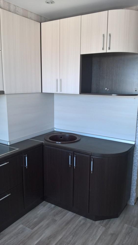 Встроенная кухня-Кухня МДФ в ПВХ «Модель 367»-фото1