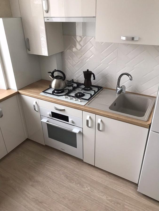 Акриловые кухни-Кухня из акрила «Модель 181»-фото1