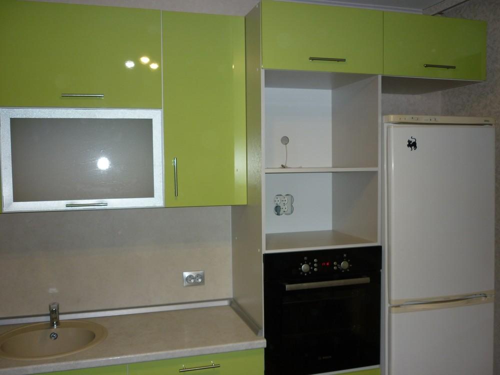 Встроенная кухня-Кухня МДФ в ПВХ «Модель 261»-фото2