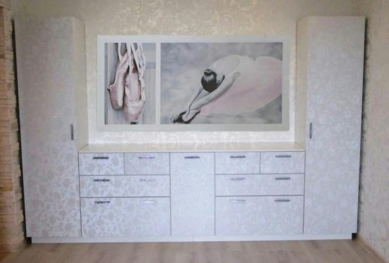 Гостиные-Стенка в гостиную «Модель 117»-фото1