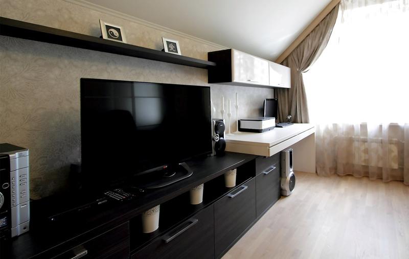 Гостиные-Стенка в гостиную «Модель 116»-фото4