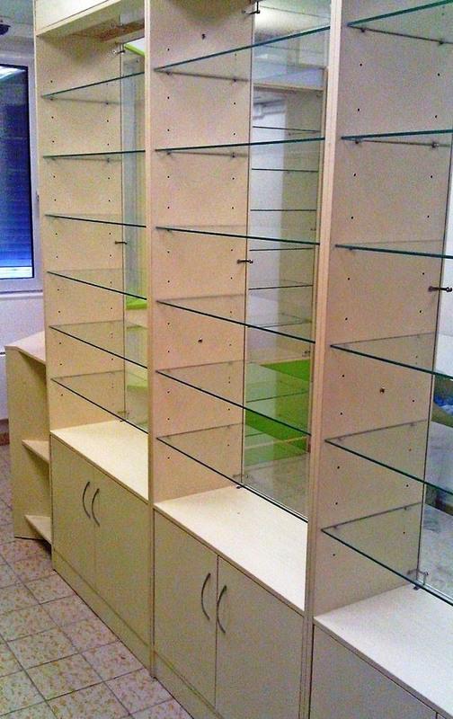 Торговая мебель-Мебель для аптеки «Модель 192»-фото4