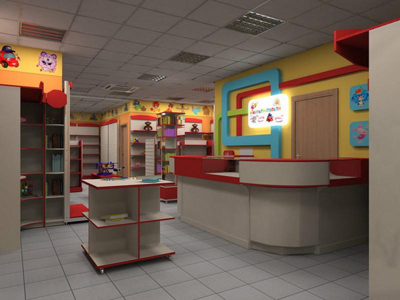 Детский магазин-Мебель для магазина «Модель 43»-фото1