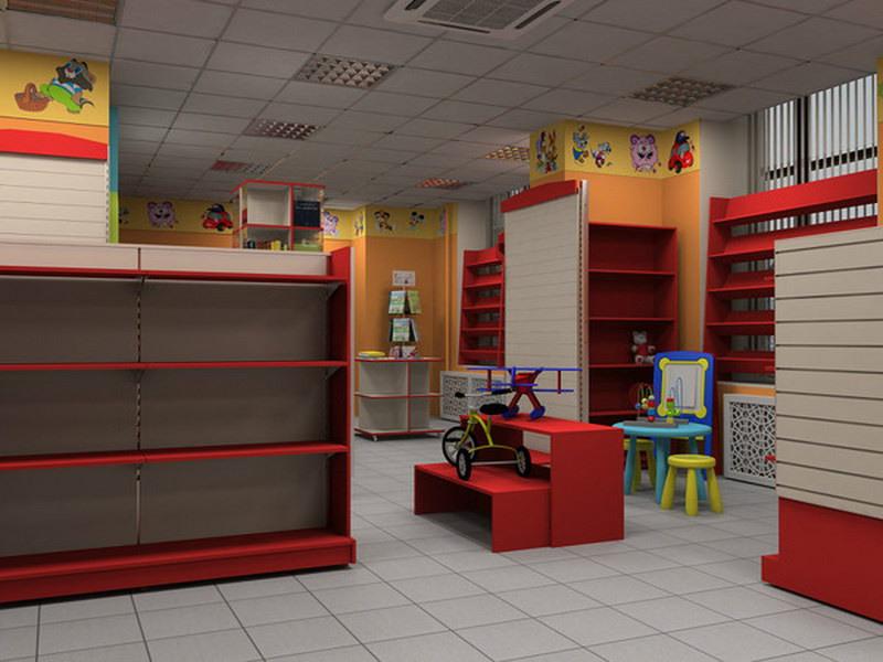 Детский магазин-Мебель для магазина «Модель 43»-фото2