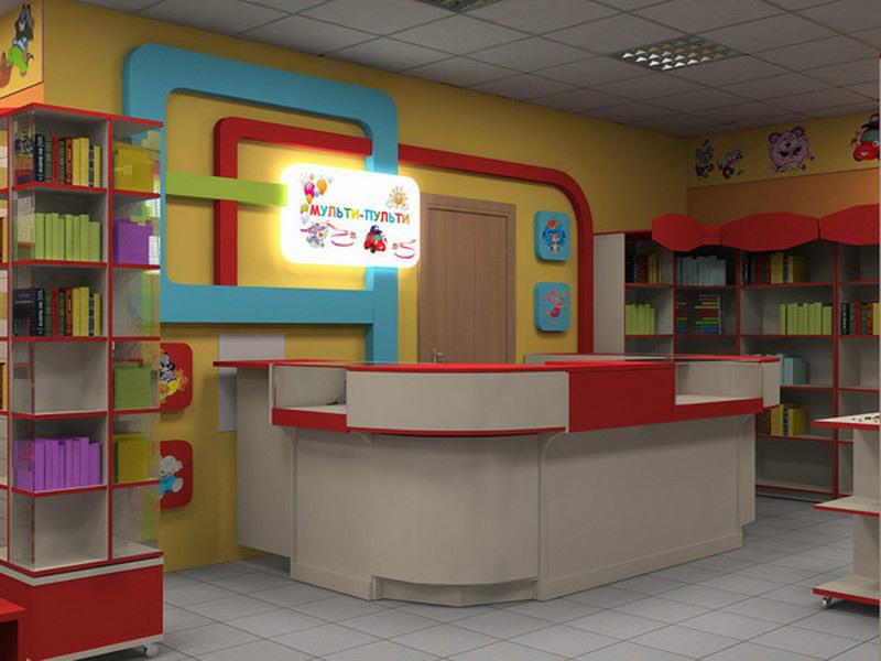 Детский магазин-Мебель для магазина «Модель 43»-фото3