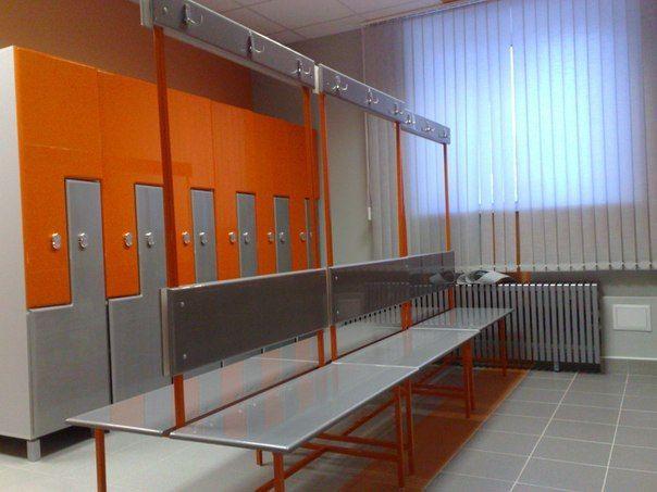 Торговая мебель-Шкафчики для раздевалки «Модель 170»-фото2