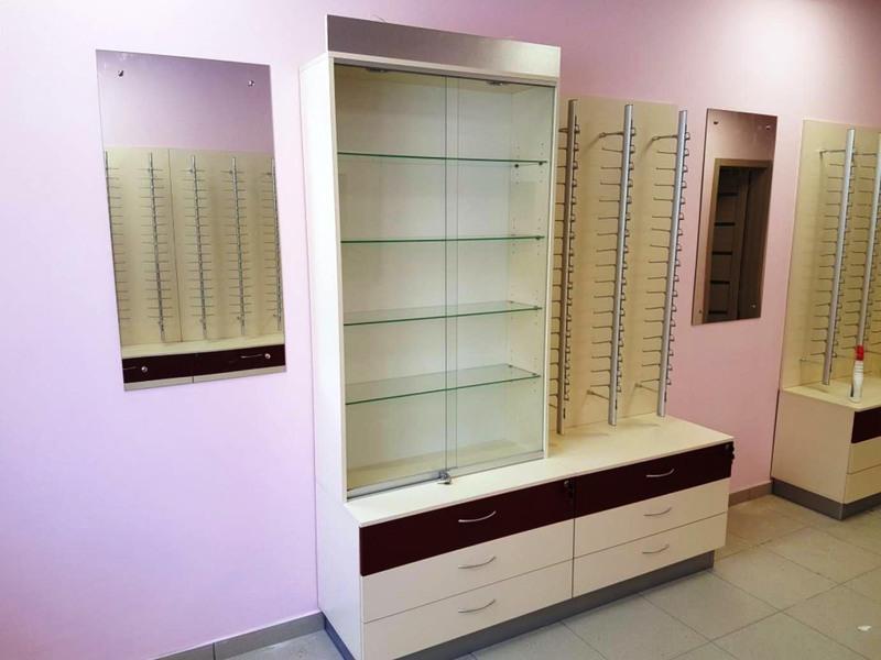 Торговая мебель-Мебель для оптики «Модель 215»-фото1