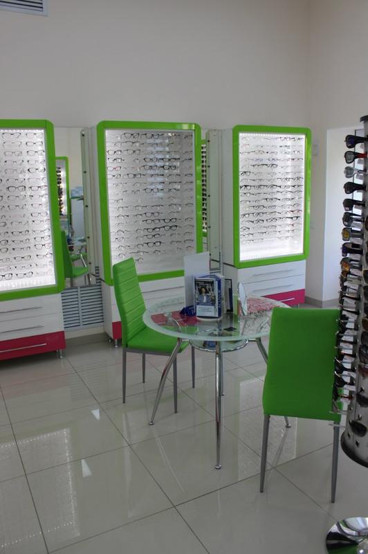 Торговая мебель-Мебель для оптики «Модель 204»-фото3