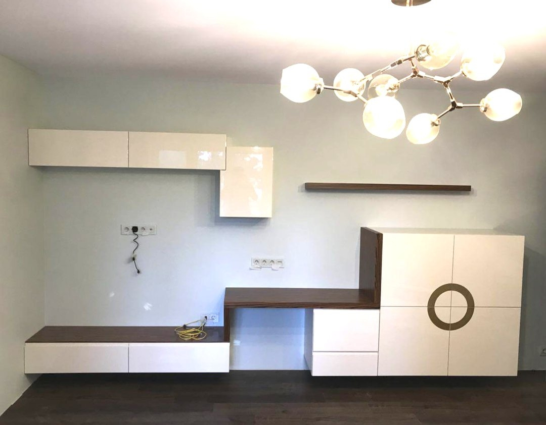 Гостиные-Стенка в гостиную «Модель 46»-фото1