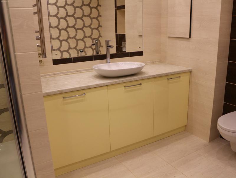 Мебель для ванной комнаты-Мебель для ванной «Модель 76»-фото3
