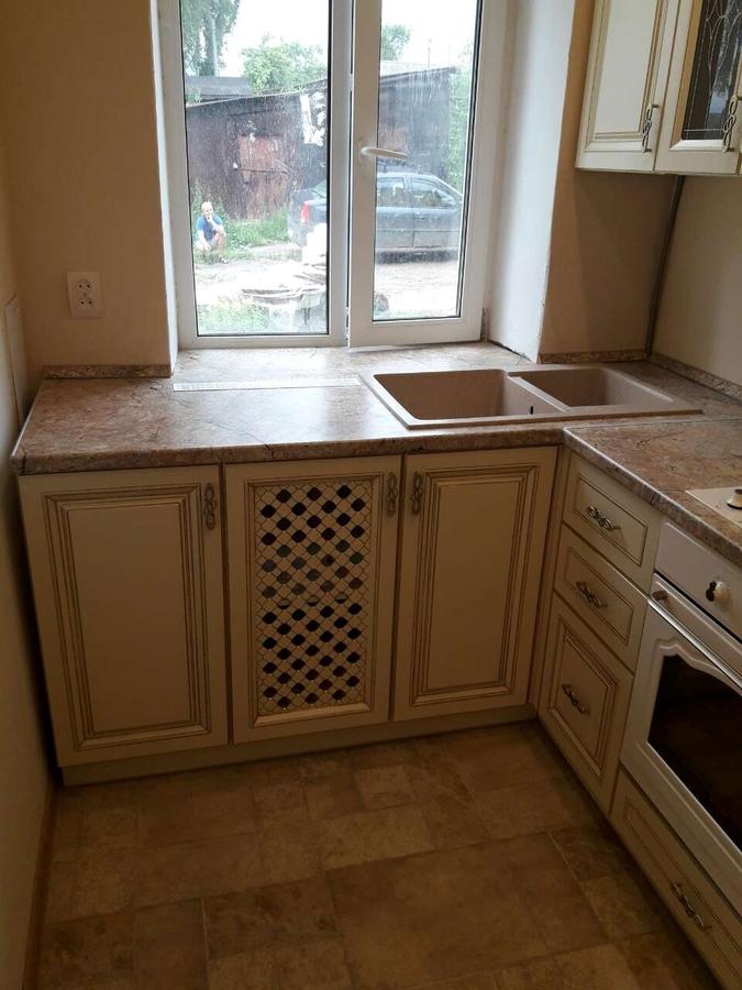 Белый кухонный гарнитур-Кухня «Модель 482»-фото4