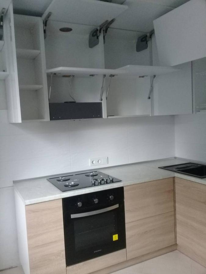 Акриловые кухни-Кухня из акрила «Модель 391»-фото3