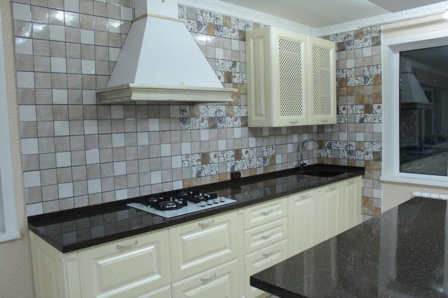 Белый кухонный гарнитур-Кухня МДФ в ПВХ «Модель 495»-фото4