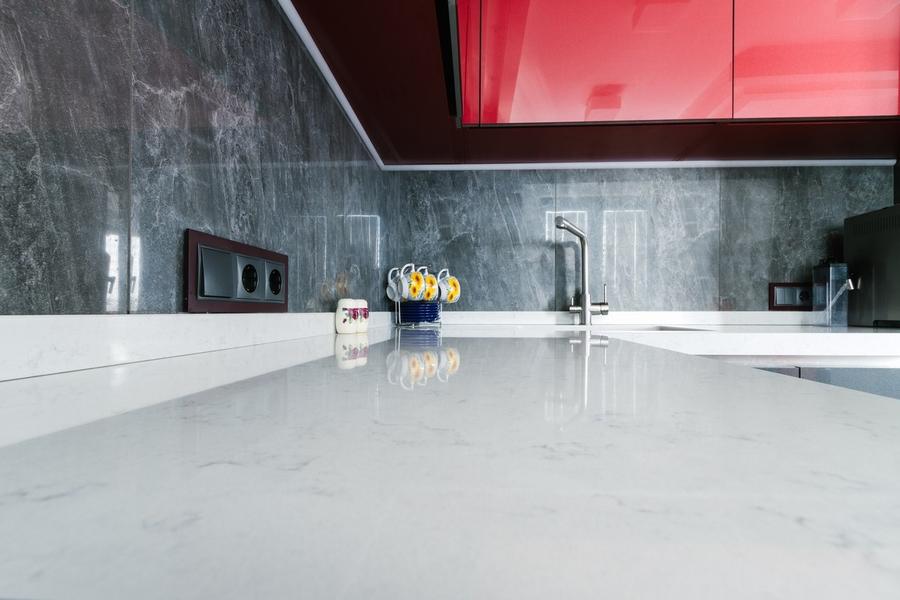 Встроенная кухня-Кухня из ЛДСП «Модель 414»-фото3