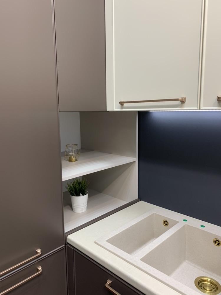 Купить кухню-Кухня МДФ в пластике «Модель 551»-фото14