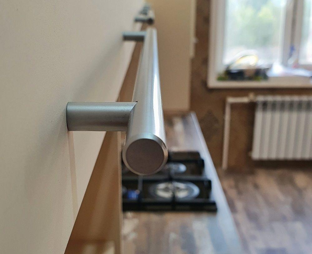 Белый кухонный гарнитур-Кухня МДФ в эмали «Модель 542»-фото11
