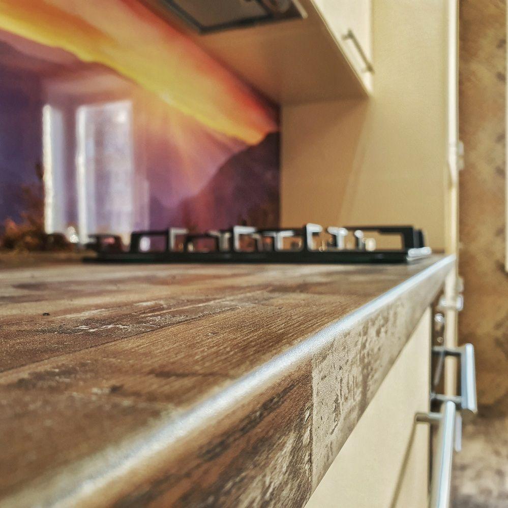 Белый кухонный гарнитур-Кухня МДФ в эмали «Модель 542»-фото5