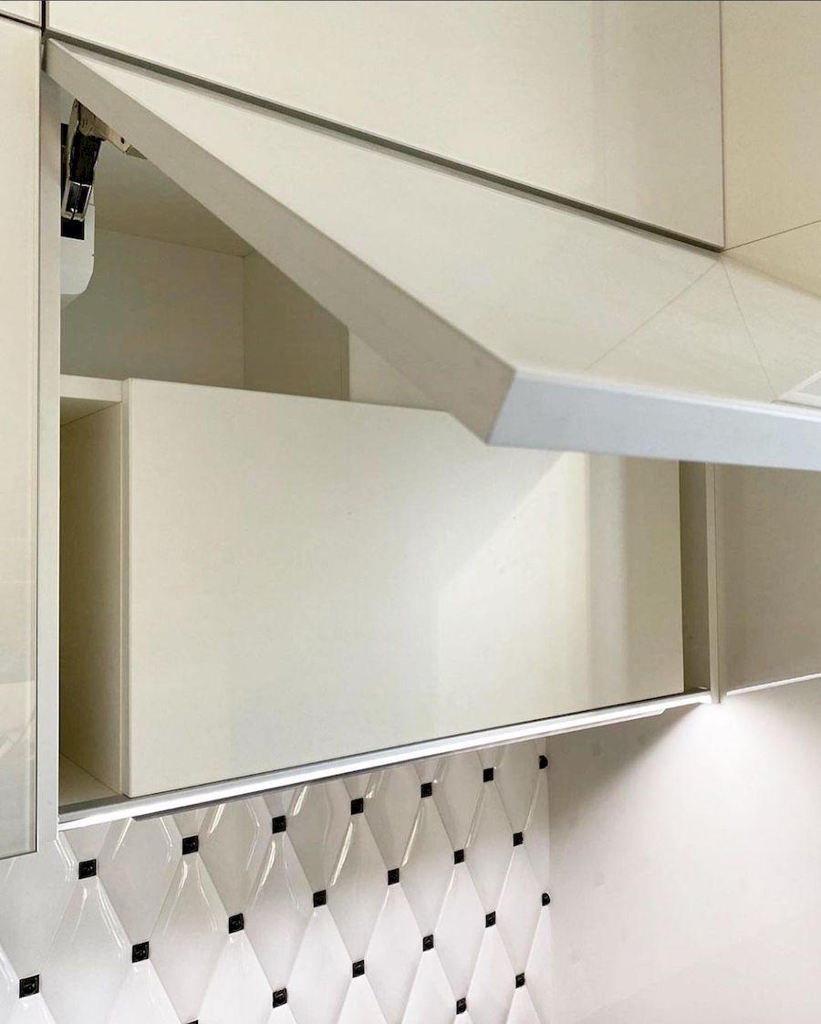 Акриловые кухни-Кухня из акрила «Модель 664»-фото4