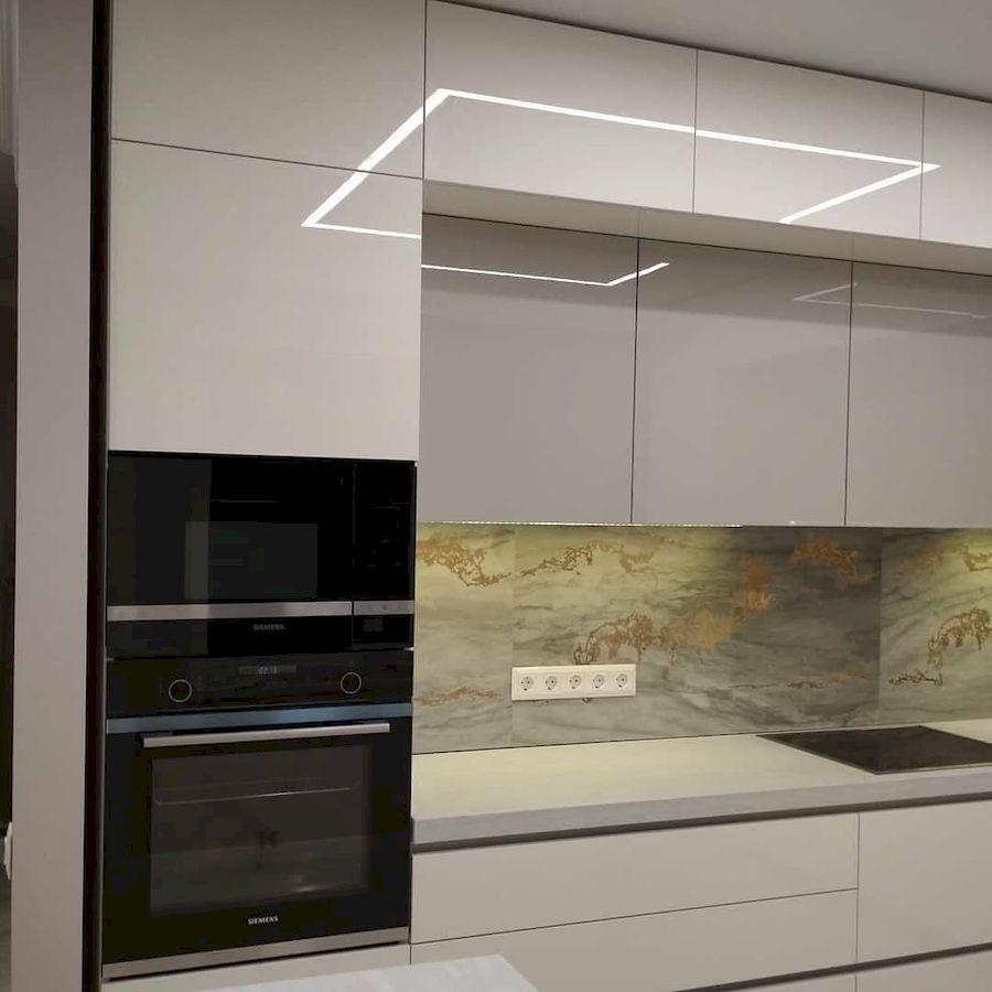 Акриловые кухни-Кухня из акрила «Модель 646»-фото6