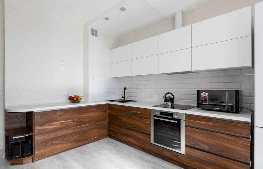 Купить кухню-Кухня из пластика «Модель 635»-фото1