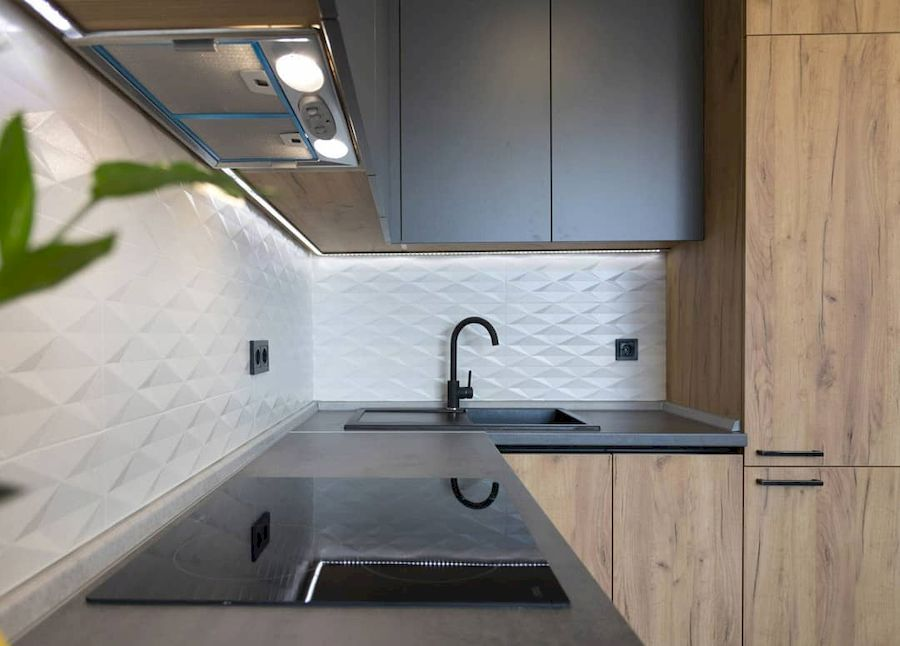 Купить кухню-Кухня из пластика «Модель 671»-фото3
