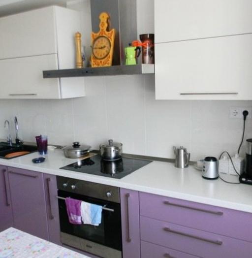 Встроенная кухня-Кухня МДФ в ПВХ «Модель 238»-фото6