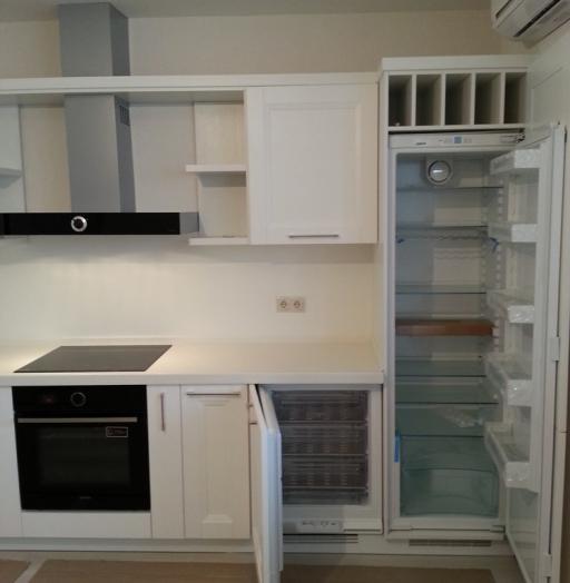 Белый кухонный гарнитур-Кухня МДФ в ПВХ «Модель 274»-фото4