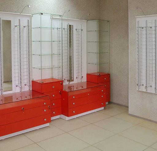 Торговая мебель-Мебель для оптики «Модель 208»-фото4