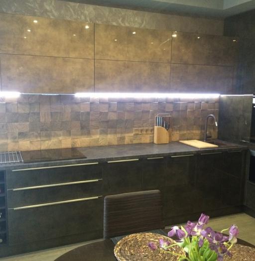 -Кухня из пластика «Модель 113»-фото12