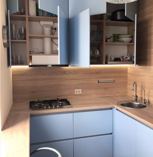 -Кухня МДФ в ПВХ «Модель 37»-фото23