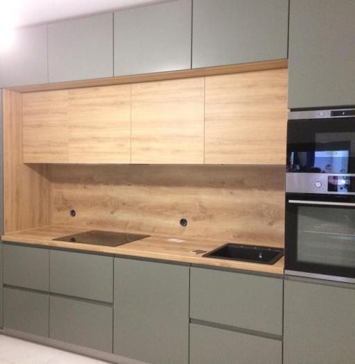 -Кухня МДФ в эмали «Модель 383»-фото29