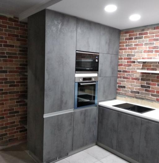 -Кухня МДФ в ПВХ «Модель 442»-фото26