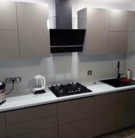 Акриловые кухни-Кухня из акрила «Модель 469»-фото2