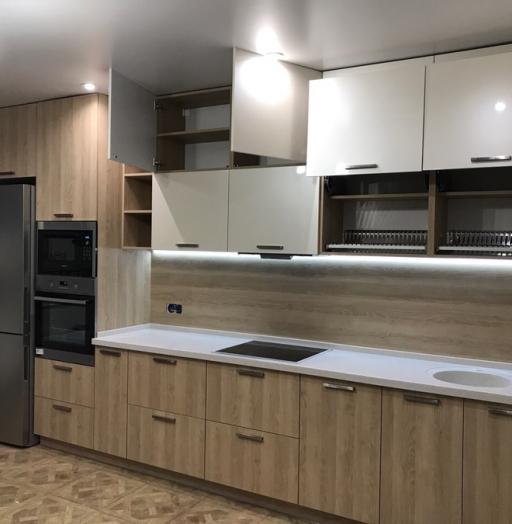 -Кухня МДФ в ПВХ «Модель 67»-фото25