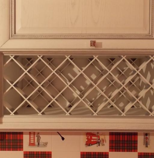 Встроенная кухня-Кухня из шпона «Модель 13»-фото7