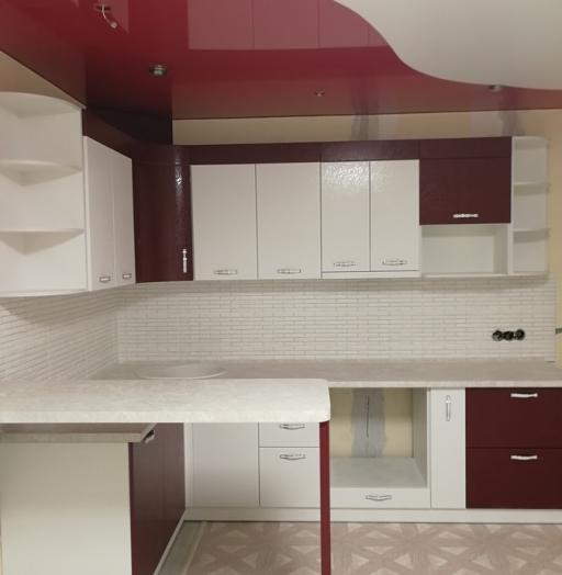 -Кухня МДФ в эмали «Модель 18»-фото27