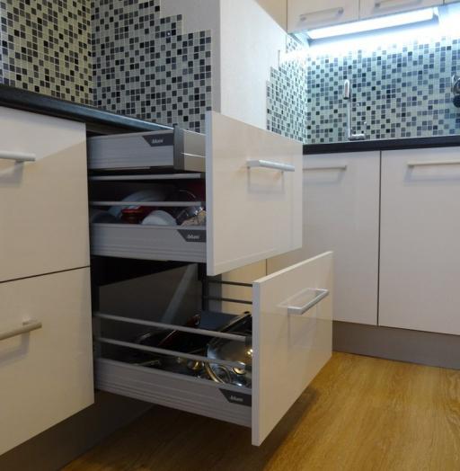 -Кухня из пластика «Модель 131»-фото3