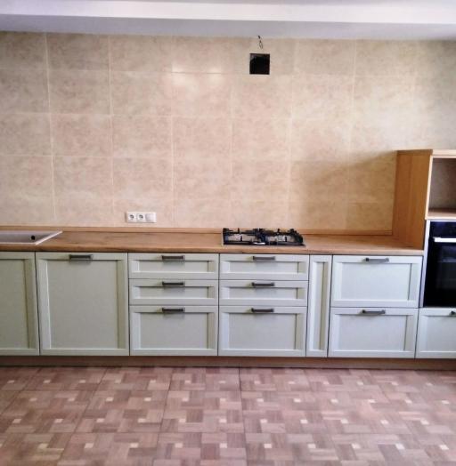 Белый кухонный гарнитур-Кухня из шпона «Модель 537»-фото6