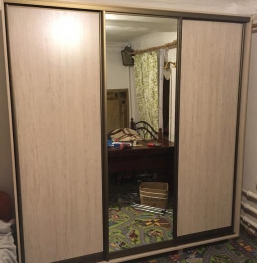 Большой шкаф-купе-Шкаф-купе с зеркалом «Модель 29»-фото4
